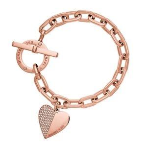 Rose Gold MK Bracelet